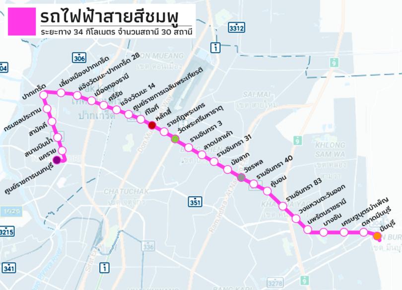 คอนโดติดรถไฟฟ้าสายสีชมพู